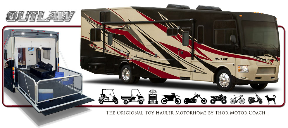 Thor Motor Coach Unveils All New Outlaw 37MD | RVTrader.com
