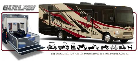 Thor Motor Coach Unveils All New Outlaw 37md